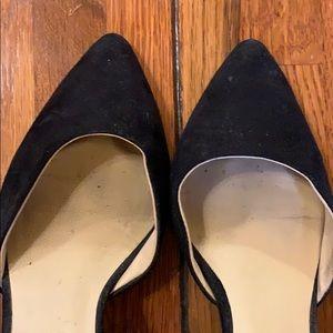 Zara Shoes - Zara | Black Suede Buckle Heel